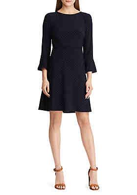 ac73b85dfc49e American Living™ Polka Dot Jersey Dress ...