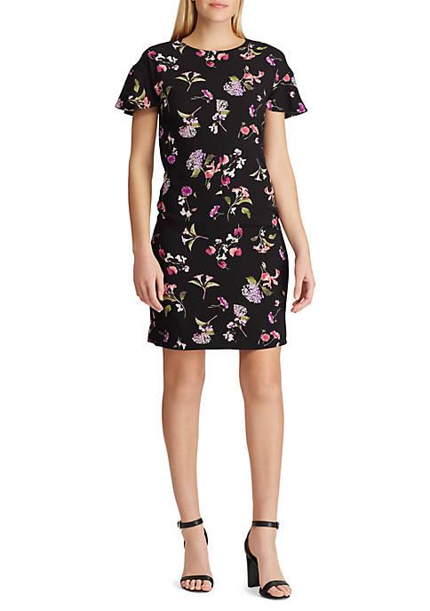 American Living™ Floral Crepe Dress