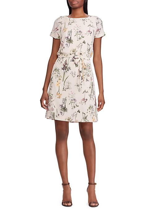 0c338790de6 American Living™ Floral Crepe Dress