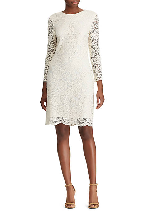 American Living™ Scalloped Lace Dress
