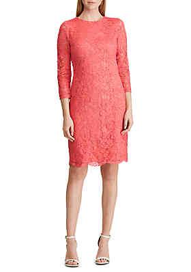 4b62660f163c American Living™ Scalloped Lace Dress ...