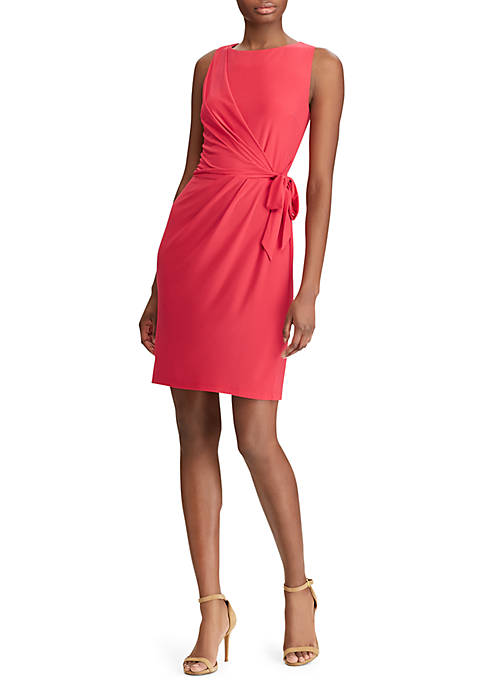 American Living™ Tie-Front Jersey Dress