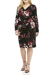 Plus Size Calera Floral Hendrick Dress