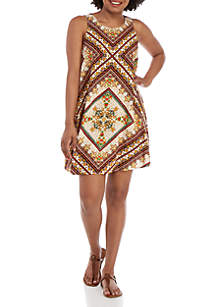 Taylor & Sage Sleeveless Swing Dress