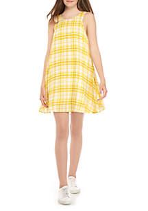 Taylor & Sage Tank Swing Printed Dress
