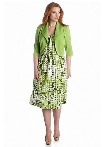 5443f3842d9 Dana Kay. Dana Kay Plus Size Jacket Dress