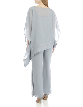 7a10045687 ... Le Bos 2 Piece Glitter Poncho and Pants Set