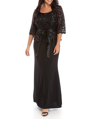 Plus Size Formal Gown