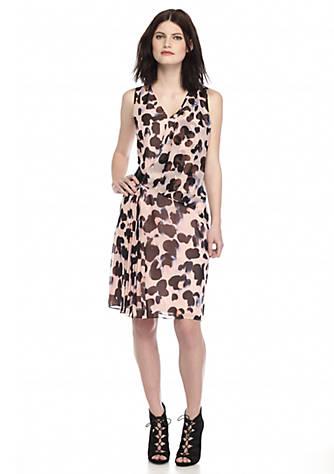 a27afb91fc9d RACHEL Rachel Roy. RACHEL Rachel Roy Dot Print Chiffon Dress