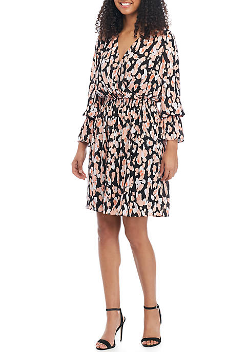 LABEL by five twelve Floral Fit and Flare