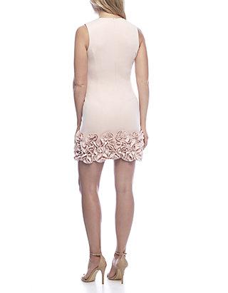 f9bf3e44 Donna Ricco New York Ruffle Hem Sheath Dress   belk