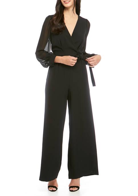 Donna Ricco New York Womens Long Sleeve Allover