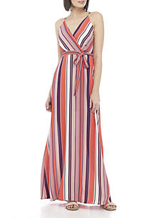 Belted Cami Maxi Dress