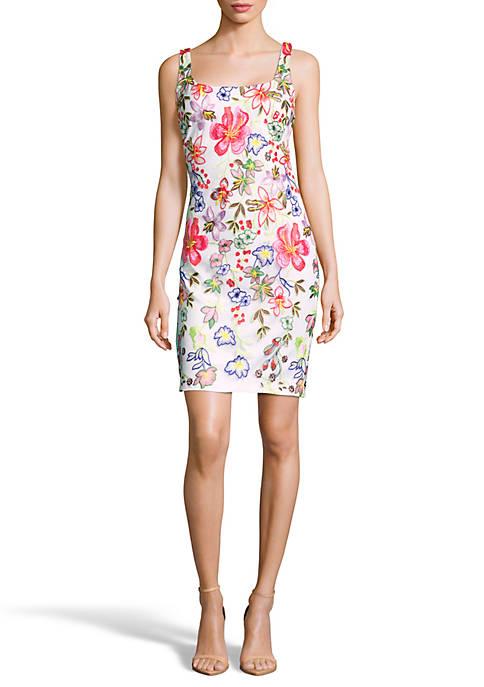 Floral Sheath Dress