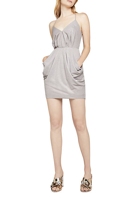 BCBGeneration Faux Wrap Mini Dress