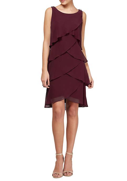 Tulip Tier Embellised Dress