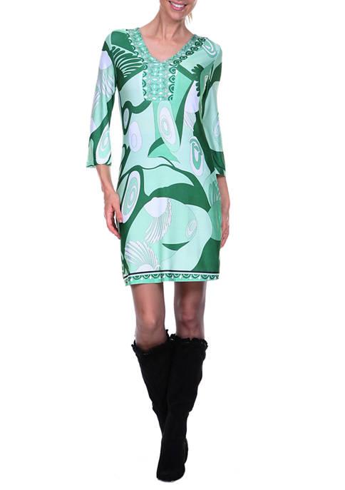 Belinda Drop Waist Dress
