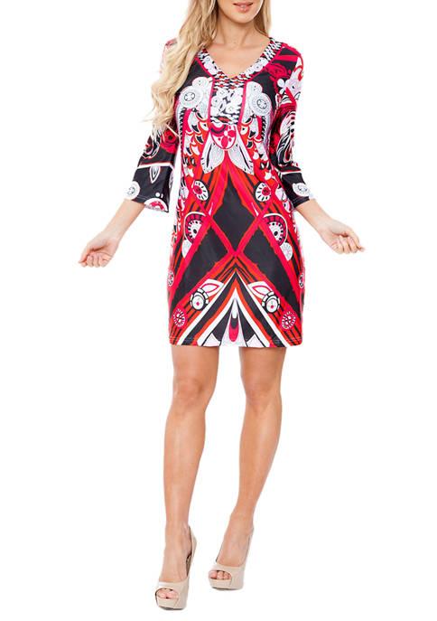 Viola Drop Waist Dress