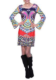 Eleanor Bell Sleeved Dress