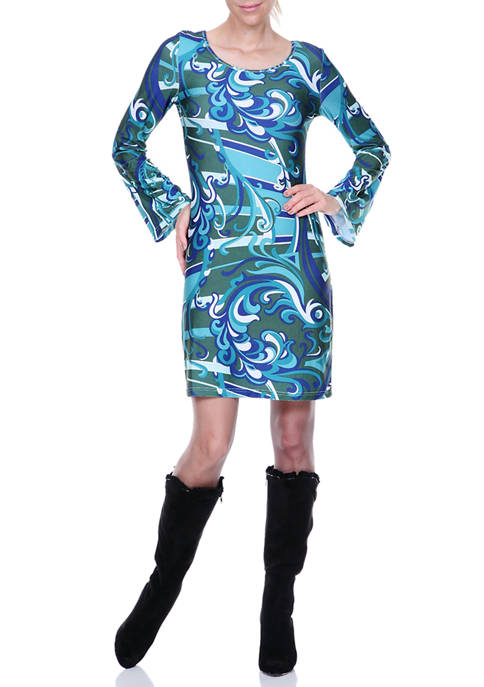 Juliana Bell Sleeved Dress