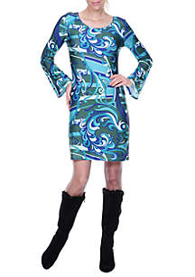 Juliana Bell Sleeved Dress