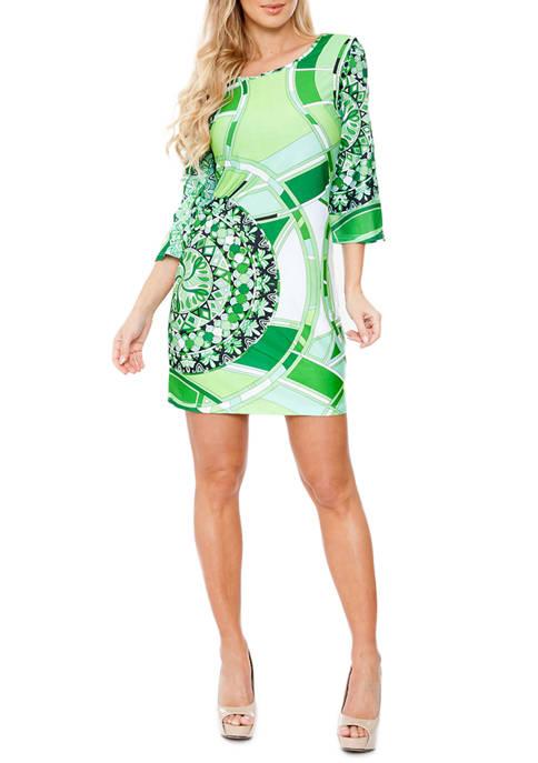 Nikki Bell Sleeve Dress
