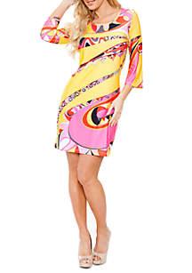 Summer Bell Sleeved Dress