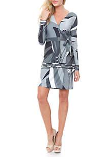 Mariah Cross Wrap Dress