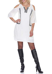 Marybeth Embroidered Dress
