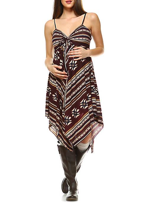 Maternity Nettie Scoop Neck Dress