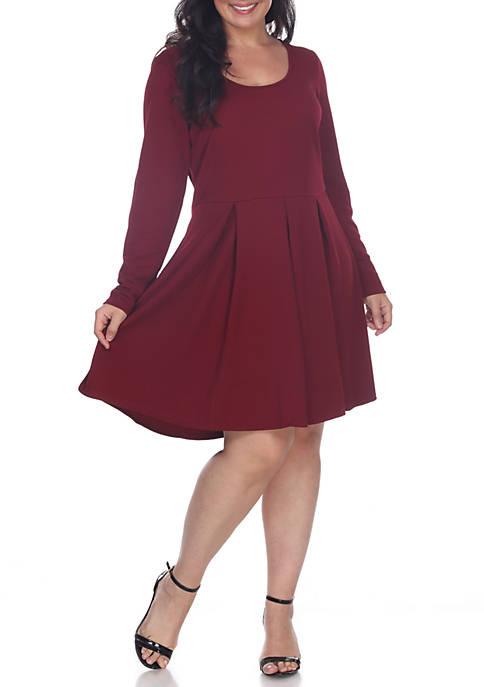 Plus Size Jenara Flare Dress