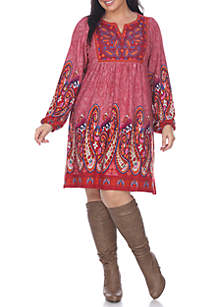 Plus Size 'Apolline' Sweater Dress