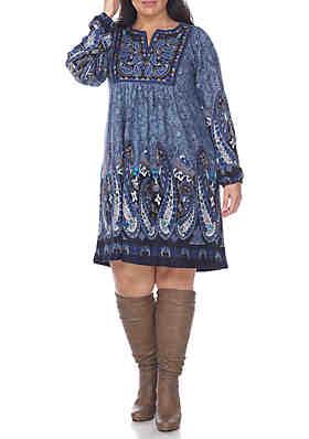 Plus Size Sweater Dress | belk