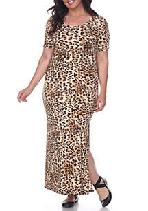 3c602886ee8e ... White Mark Plus Size 'Jasmine' Maxi Dress