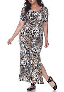 Plus Size 'Jasmine' Maxi Dress