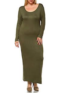 Plus Size 'Ria' Maxi Dress