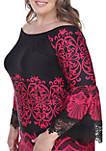 Plus Size Alta Lace Trim Dress