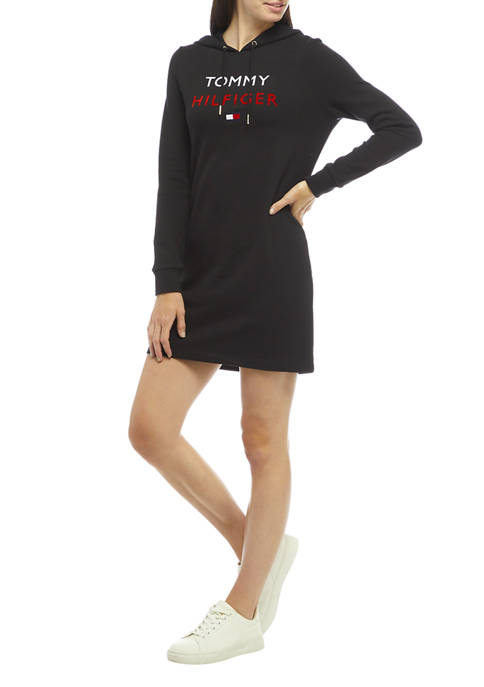 Tommy Hilfiger Womens Long Sleeve French Terry Chest