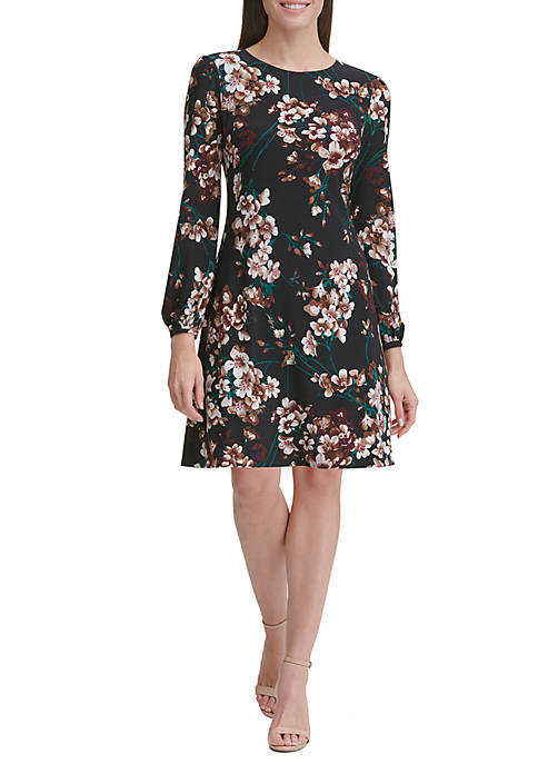Tommy Hilfiger Romantic Azalea Jersey Shift Dress