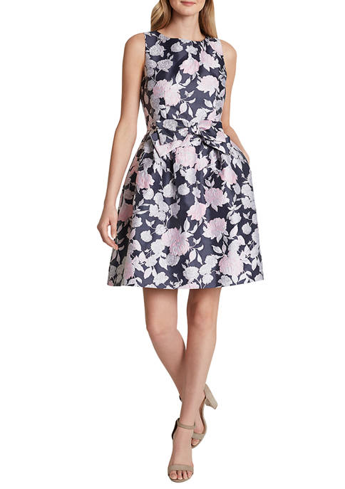 Womens Sleeveless Bow Dress