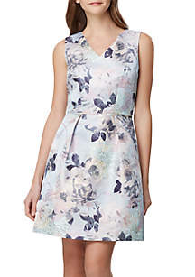 f61dc95f4e75 Tahari Finnley Slingback Pumps · Tahari ASL Floral Jacquard Fit and Flare  Dress