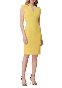 291fd710665d ... Tahari ASL Shift Crepe Dress