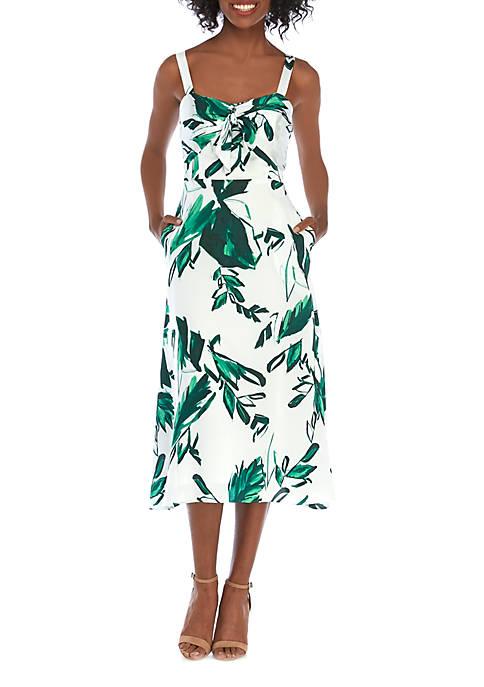 Julia Jordan Sleeveless Knit Midi Dress