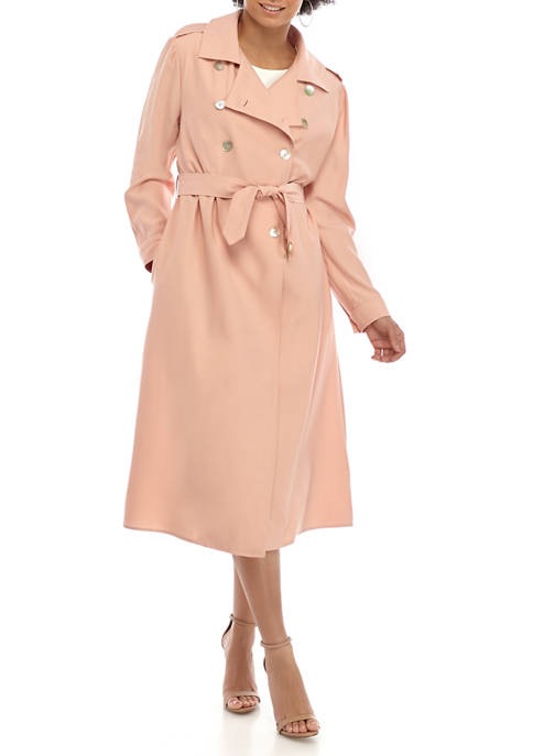 Womens Belted Dress Topper