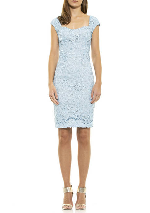 Alexia Admor Womens Brynne Lace Dress