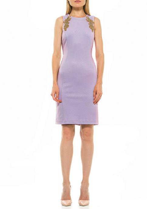 Alexia Admor Womens Chloe Embellished Dress