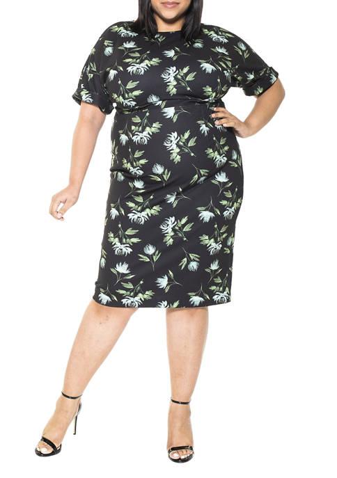 Alexia Admor Plus Size Jacqueline Sheath Dress