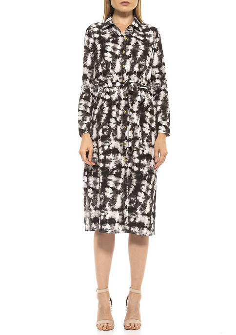 Womens Emersyn Shirt Dress