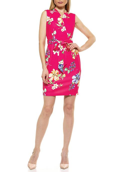 Alexia Admor Womens Savannah Sheath Dress