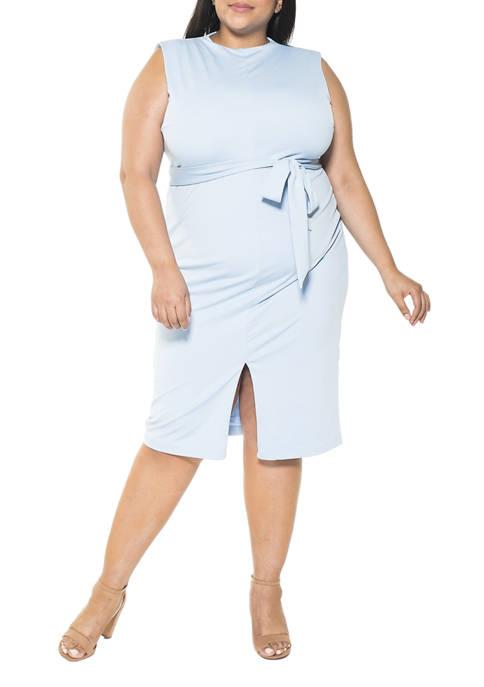 Alexia Admor Plus Size Fara Sheath Dress